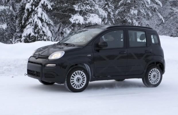 Erwischt: Erlkönig Fiat Panda 4x4 – Auf allen Vieren durch den Schnee
