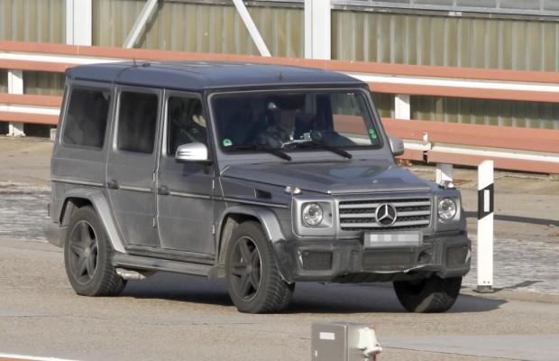 Erwischt: Erlkönig Mercedes G 65 AMG