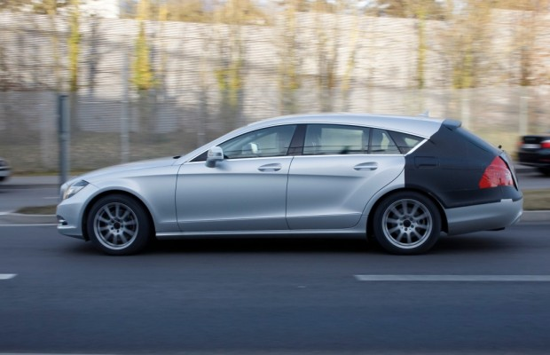 Erwischt: Mercedes CLS Shooting Brake +++ Update