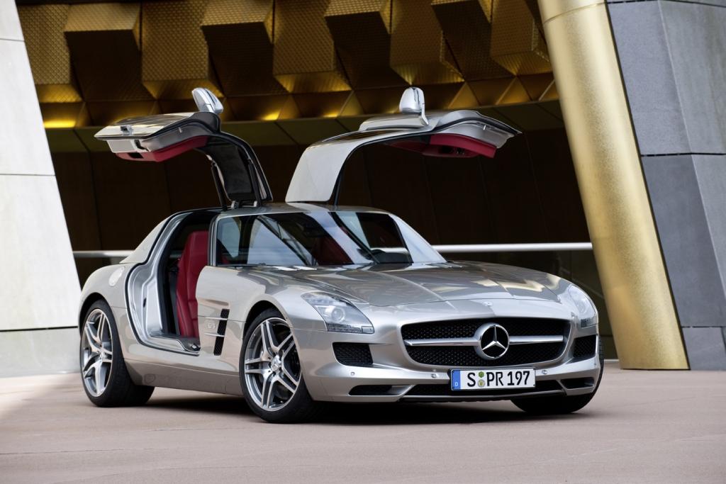 Fahrbericht: Mercedes-Benz SLS AMG - Mit verklärtem Blick