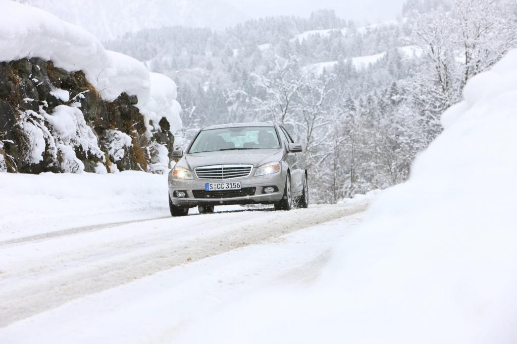 Fahren auf Schnee und Eis - Auf den Popometer kommt es an