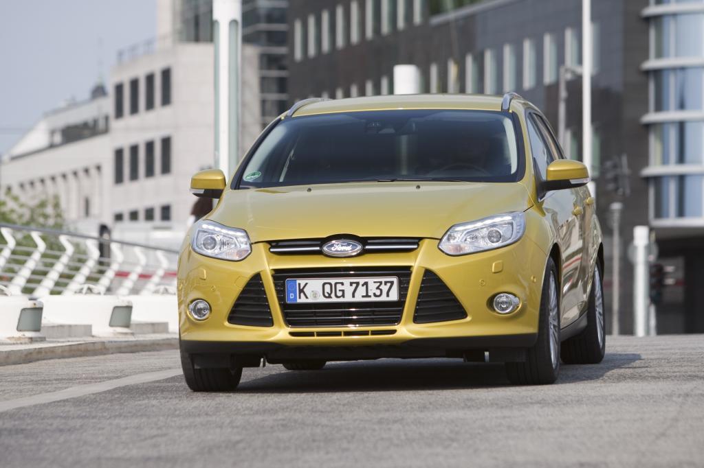 Ford setz bei seinem Kompakt-Kombi auf dynamisches Design