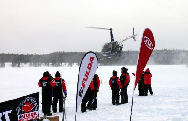 Fulda Challenge 2012: Ungewöhnliche Herausforderungen bei minus 30 Grad