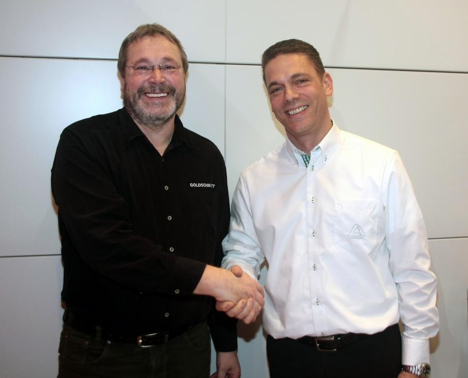 Goldschmitt und Linnepe vertiefen Zusammenarbeit