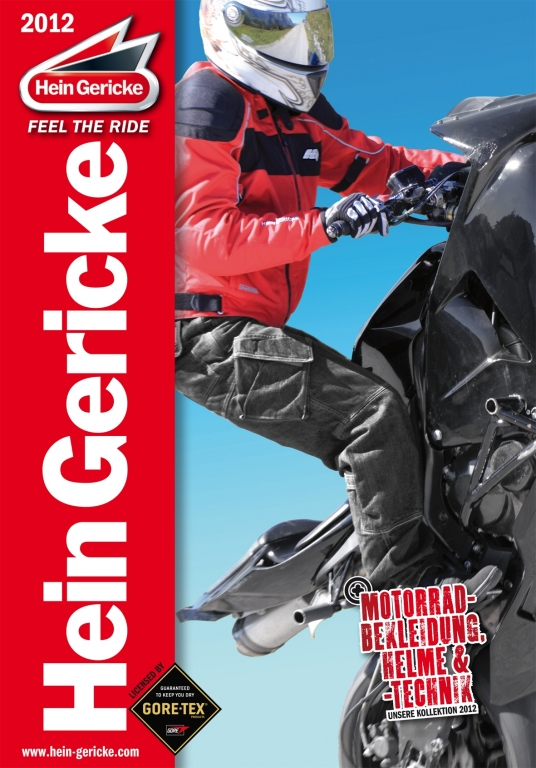 Hein Gericke Katalog 2012 verfügbar