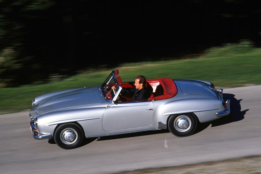 Heute gehört der SL zu den Sportwagen-Klassikern