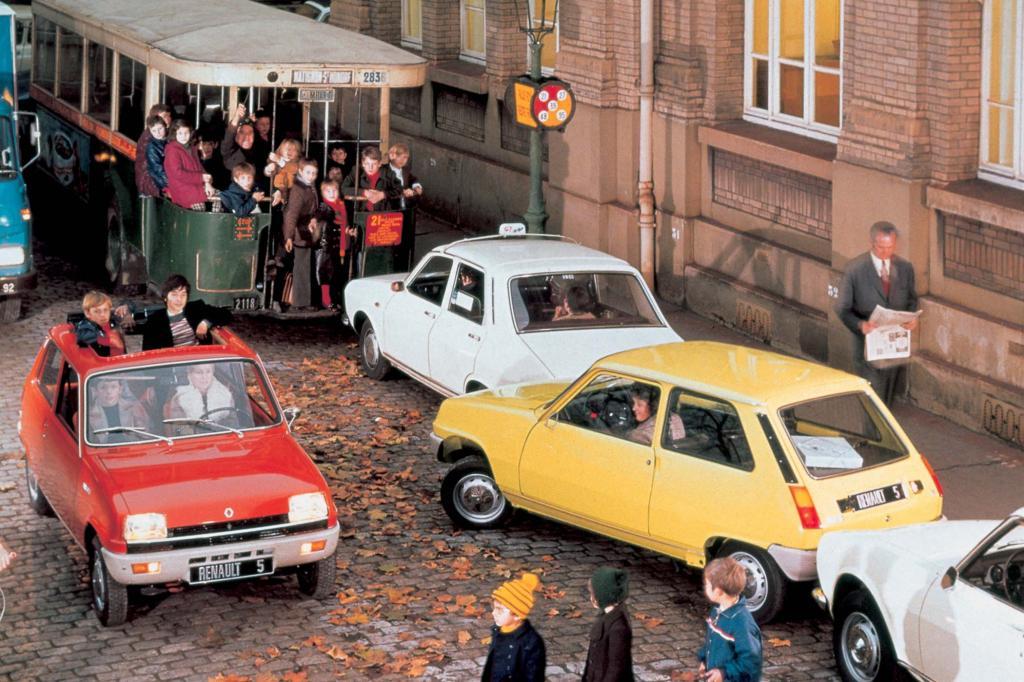 Im Januar 1972 rollten die ersten R 5 auf die Straße