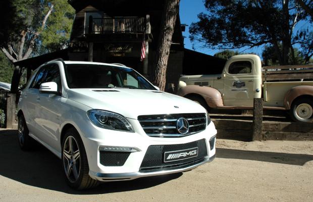 In der SUV-Spitzenklasse: Mercedes kündigt neuen ML 63 AMG für April an