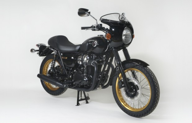 Kawasaki W800 Ltd 50: Limitierter Retro-Klassiker mit Goldfelgen und Bikini-Verkleidung