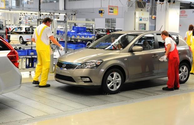 Kia-Produktion in Europa erreicht Rekordwerte