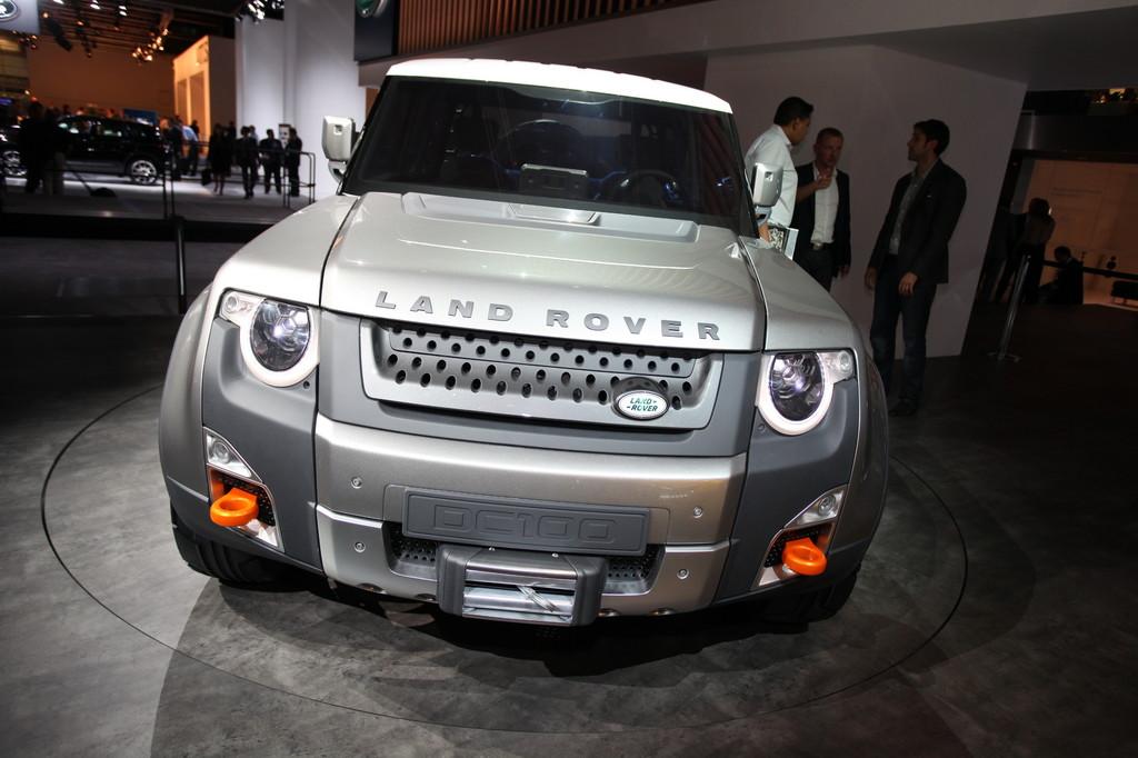 Land Rover zeigt Konzeptstudie DC100 auf der