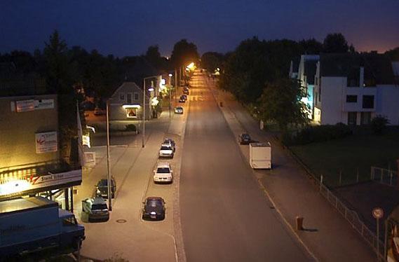 Mehrheit für Spar-Beleuchtung im Straßennetz
