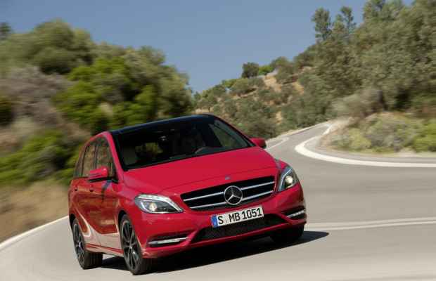 Mercedes-Benz B-Klasse erhält Umweltzertifikat