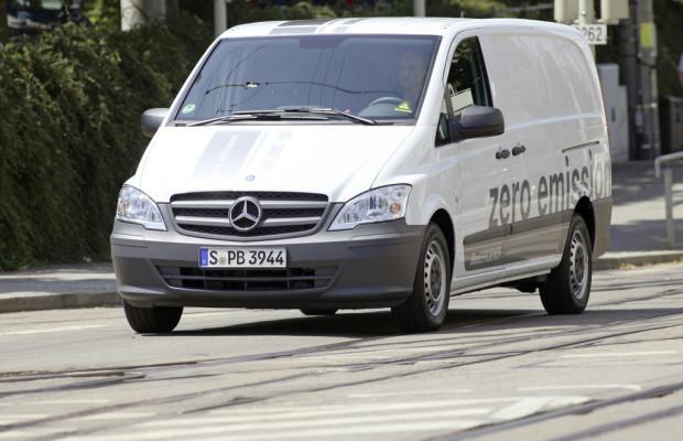 Mercedes-Benz Vito E-Cell legen 650 000 Kilometer zurück