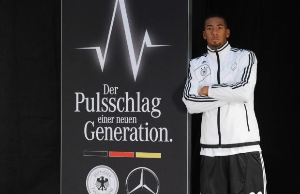 Mercedes-Benz dreht mit der Nationalmannschaft Spot für TV und Social Media