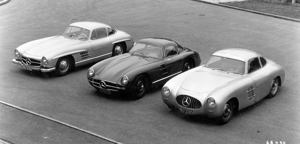 Mercedes SL - Aber leicht muss er sein