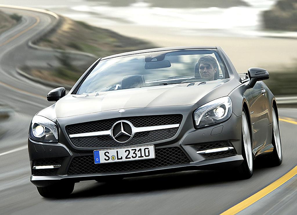 Mercedes SL: Der Roadster fährt