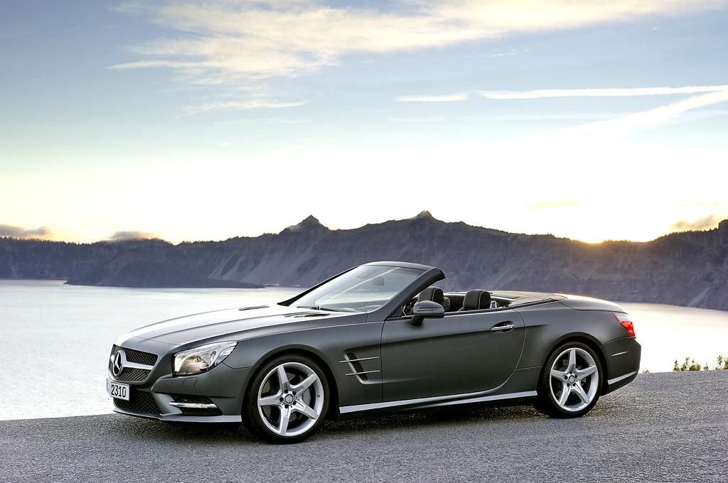 Mercedes SL: Die Neuauflage ist schon die sechste Generation. Foto: Mercedes