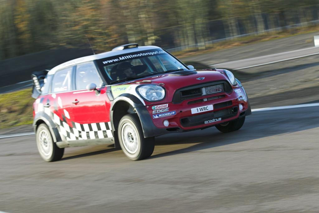 Mini Cooper WRC - So fährt sich ein Rallye-Auto