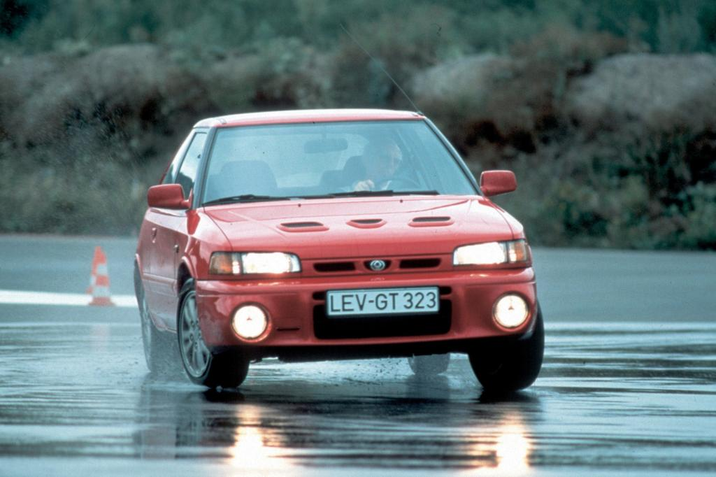 Mit dem 323 GT-R bewies Mazda auch sportliche Kompetenz