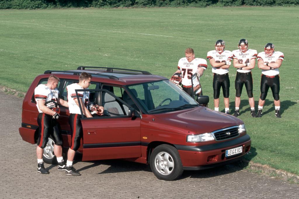 Mit dem MPV nahm Mazda Familien ins Visier