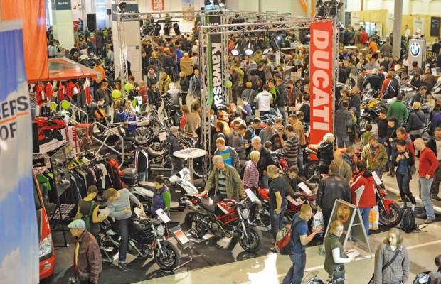 Motorradmesse SachsenKrad 2012 in Dresden