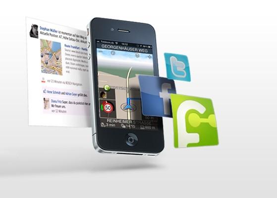 Navigations-App von Bosch jetzt in Version 1.5 verfügbar