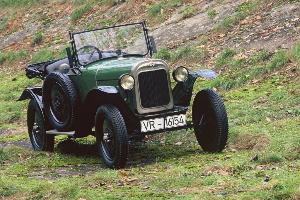 Opel 4/12 Laubfrosch, 1924