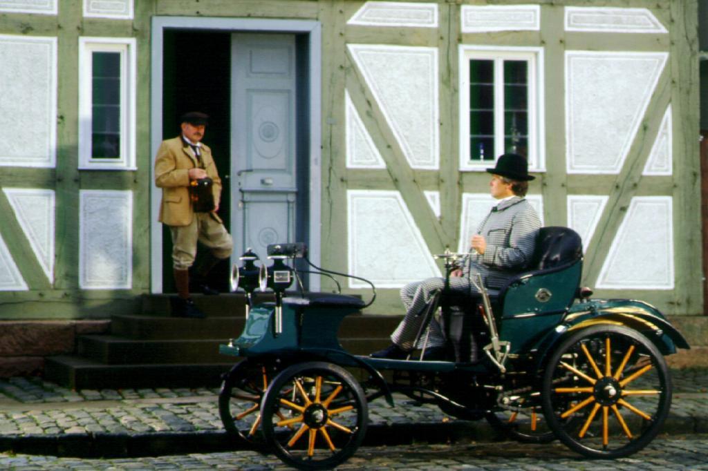 Opel 4/8 Doktorwagen von 1909