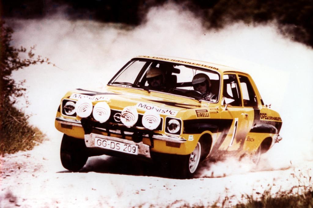 Opel Ascona A Rallye Europameisterschaft mit Walter Röhrl und Jochen Berger 1974