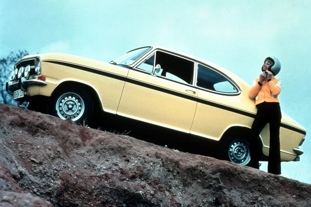 Opel Kadett B Rallye Coupe LS ab 1967