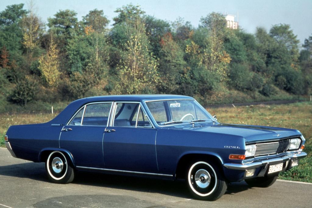 Opel Kapitän A, ab 1964