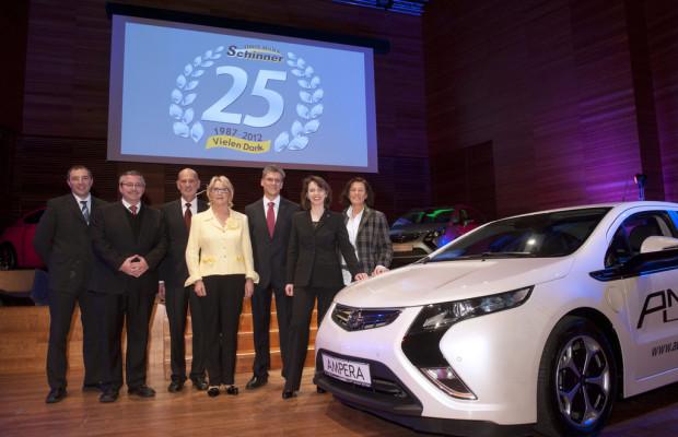 Opel-Partner in Thüringen feiert Jubiläum