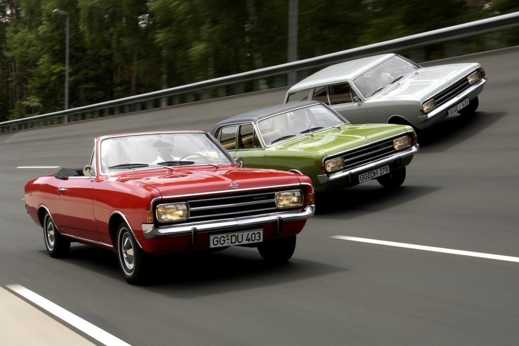 Opel Rekord C Modellpalette, ab 1966