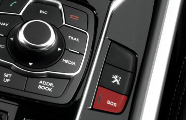 Peugeot ist Vorreiter für eCall