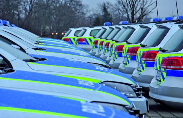 Polizei in Sachsen-Anhalt erhällt 299 VW Passat