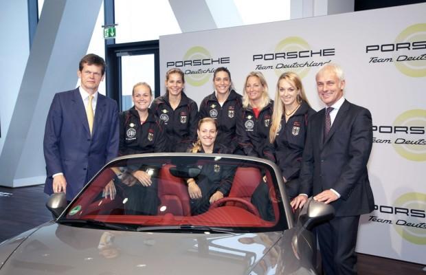 Porsche wird Premium-Partner des Deutschen Tennis Bundes