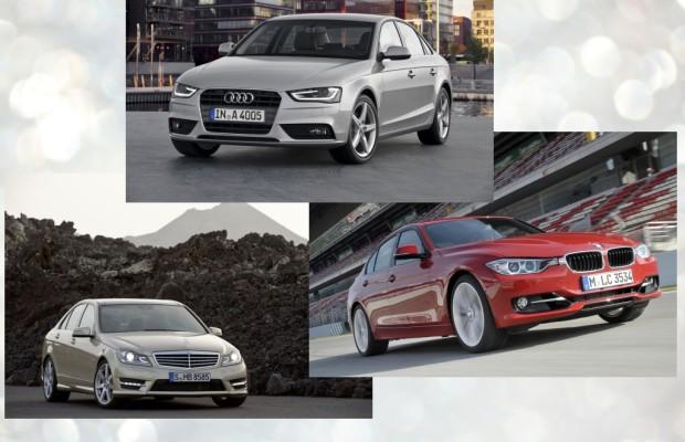 Premium-Limousinen der Mittelklasse - Deutscher Dreikampf