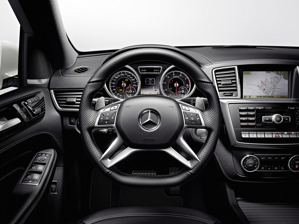 Pressepräsentation Mercedes-Benz ML 63 AMG: Auf die Spitze getrieben