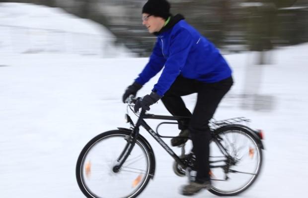 Radfahren im Winter - Sicher durch Eis und Schnee