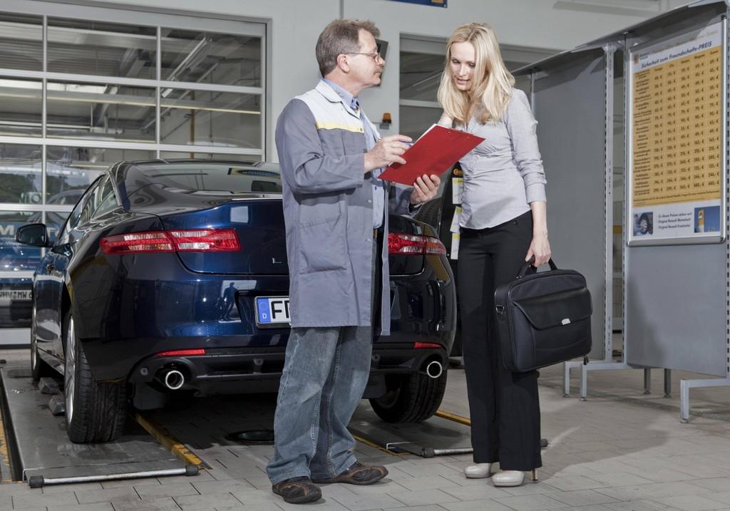 Renault bietet besten Werkstatt-Service