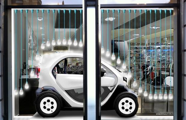 Renault zeigt auf der Fashion Week den Twizy