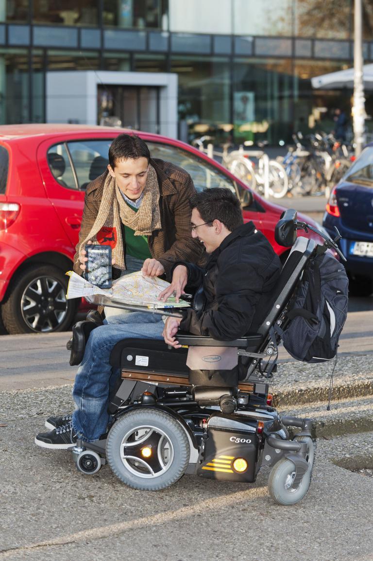 Routenplaner für Rollstuhlfahrer
