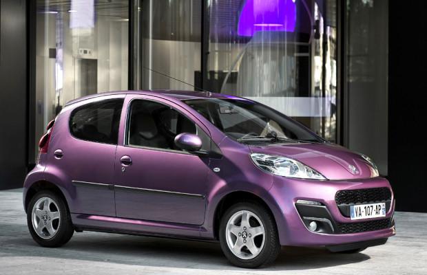 Stärker an größere Brüder angelehnt: Neuer Peugeot 107 startet im März