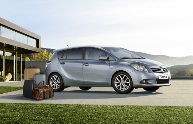 Toyota bietet Sondermodell Verso Travel mit
