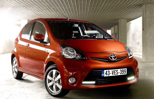 Toyota schickt aktualiserten Aygo gegen Ende Februar in den Verkauf