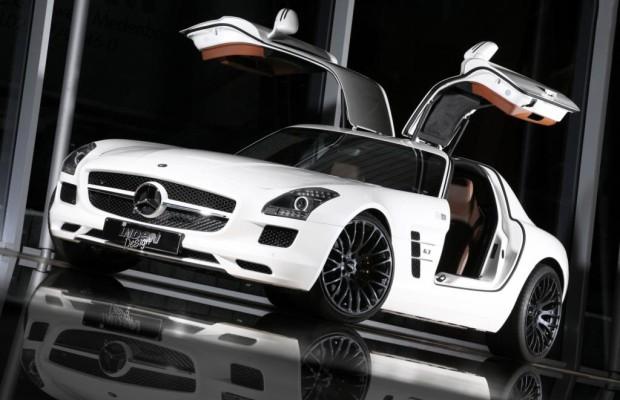 Tuning für Mercedes SLS - Kräftiger Flügelschlag