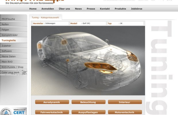 Tyre24 steigt in Tuning-Handel ein