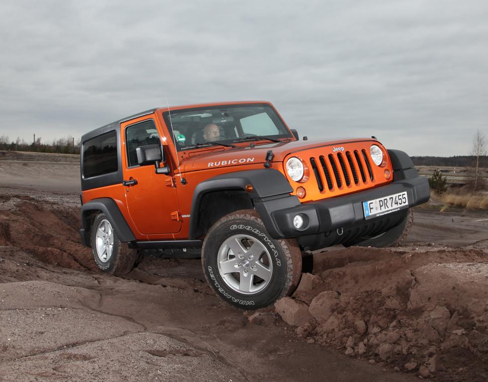 V6-Triebwerk für Jeep Wrangler