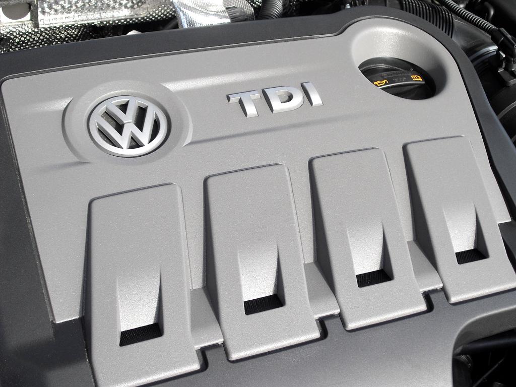 VW CC: Blick auf einen der 2,0-Liter-Turbodiesel.